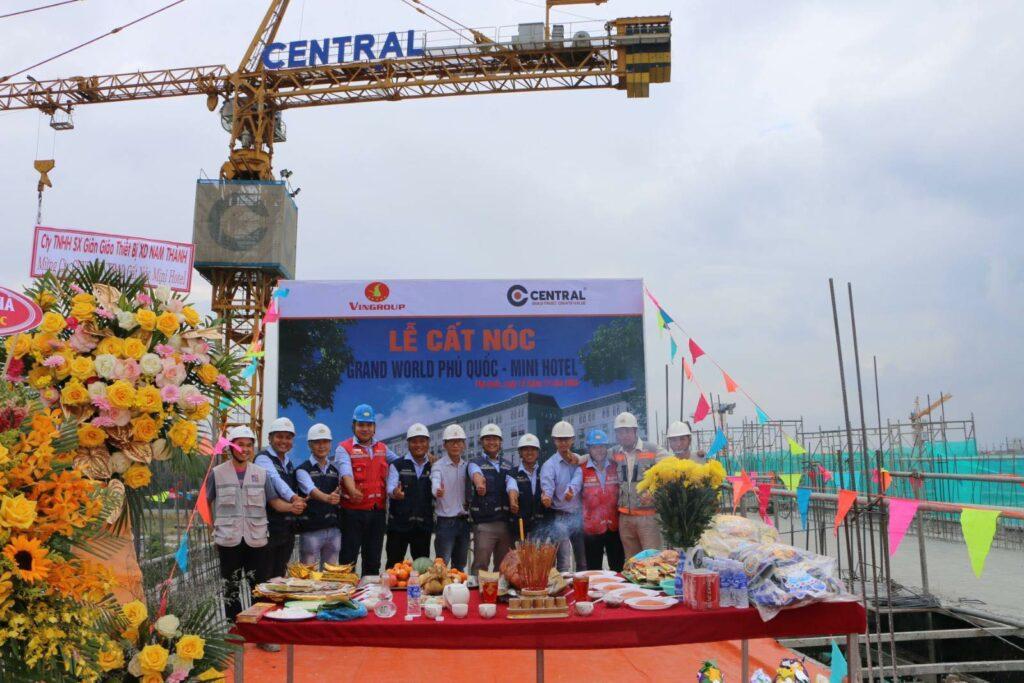 Tiến độ dự án Grand World Phú Quốc T4/2021