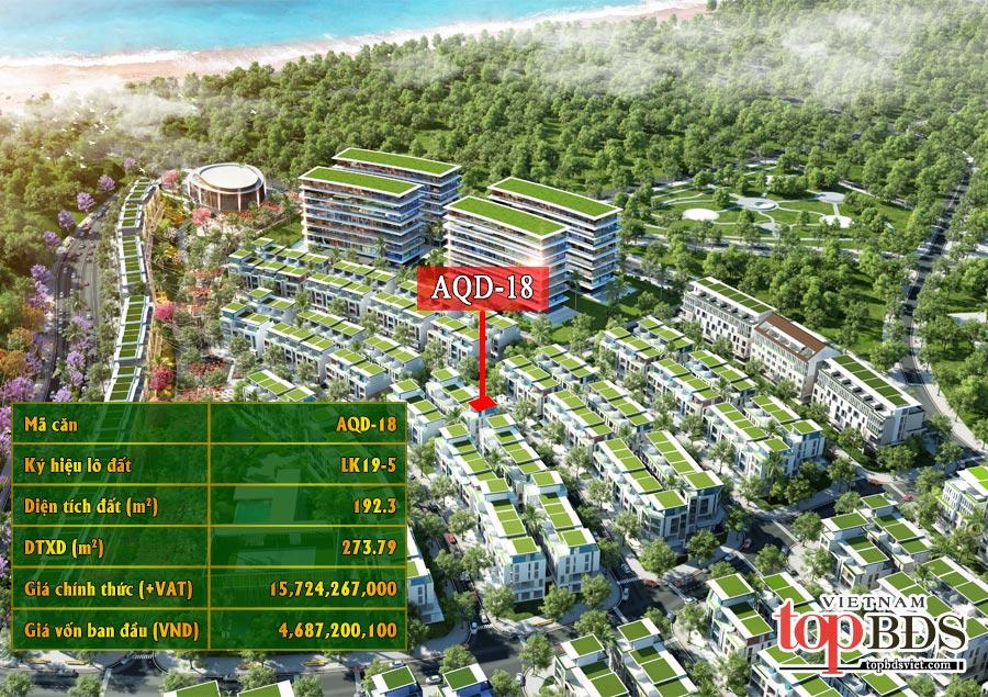 """Bán căn Shophouse Garden AQD-18 khu đô thị mới""""PHÚ MỸ HƯNG"""""""