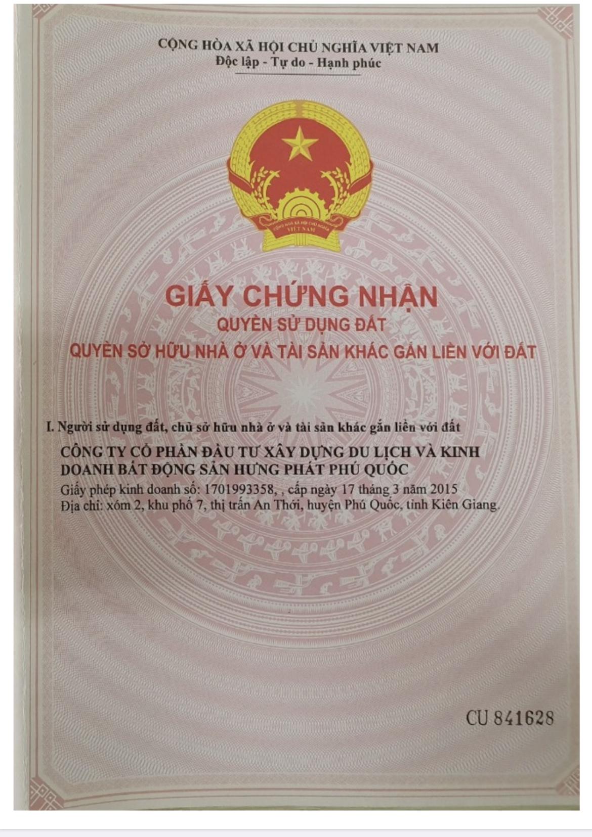Sở hữu ngay sổ đỏ liền tay Meyhome capital phú quốc giới hạn