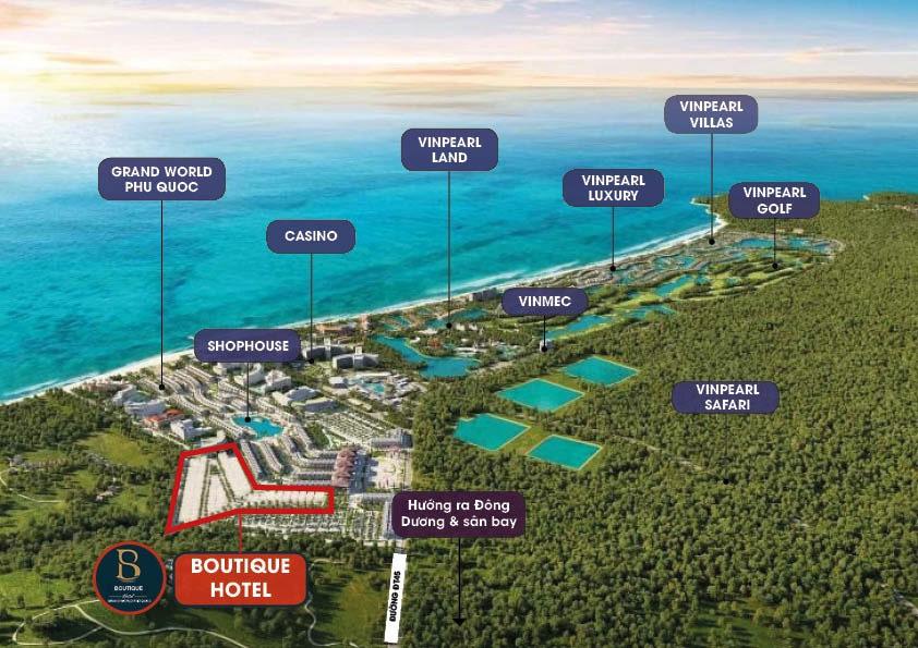 Siêu quần thể nghỉ dưỡng hàng đầu Đông Nam Á - Phú Quốc United Center