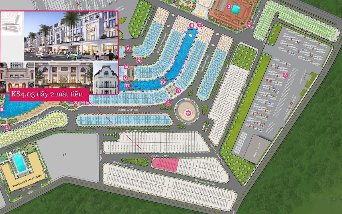 Bán dãy khách sạn 2 mặt tiền trước sau, toàn dự án chỉ 7 căn