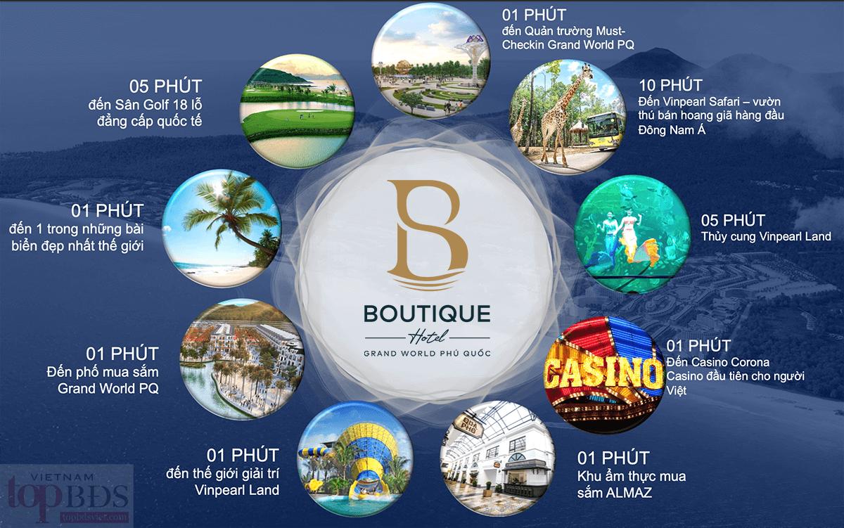 Boutique Hotel Grandworld - một điểm đến, vạn trải nghiệm