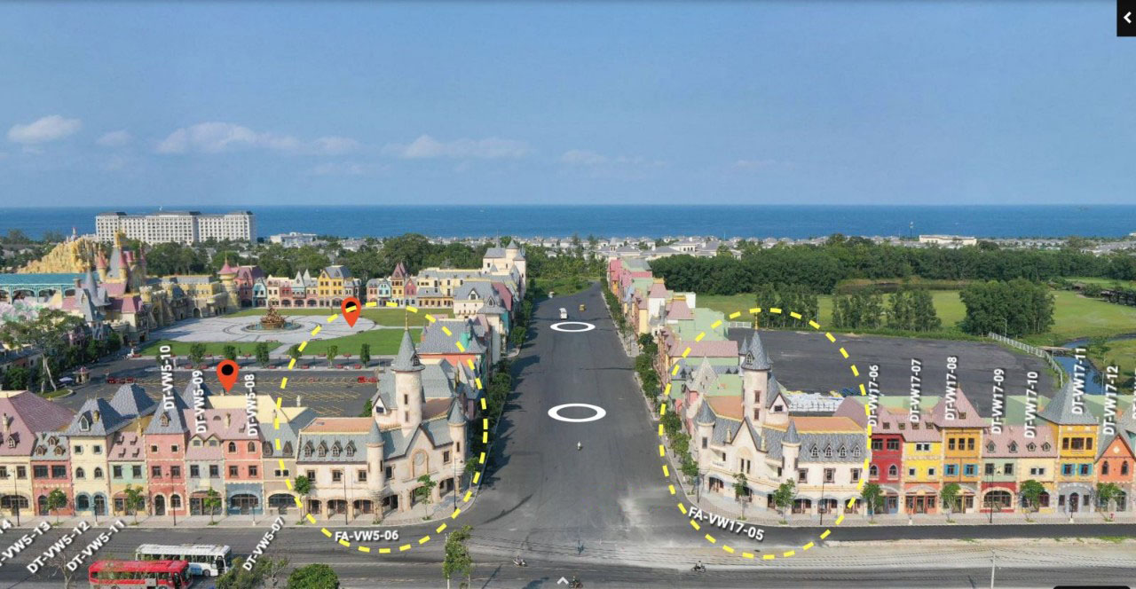 2 căn Shop đẹp nhất dự án Shophouse Vinwonders Phú Quốc